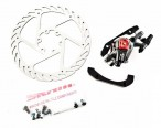 Тормоз Avid BB7 MTB Graphite 160mm G2CS Rotor Front/Rear